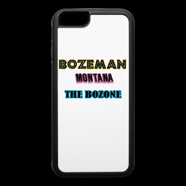 Bozeman Montana The Bozone Gift Shirts - iPhone 6/6s Rubber Case