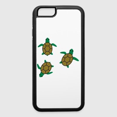 sea turtles - iPhone 6/6s Rubber Case