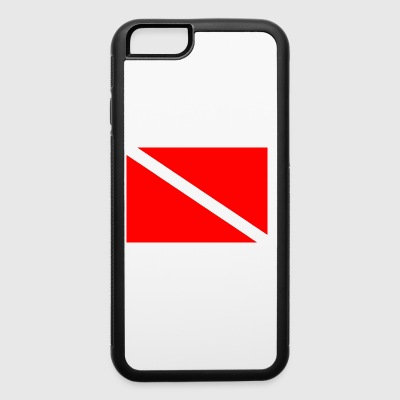 Dive Flag - iPhone 6/6s Rubber Case
