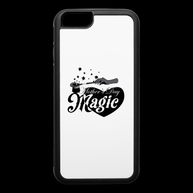 African American Mother's Day Magic (Black Star) - iPhone 6/6s Rubber Case