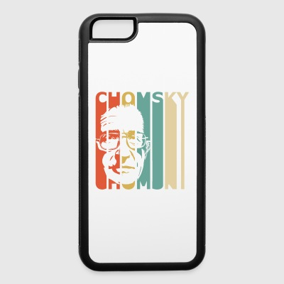 Retro Chomsky - iPhone 6/6s Rubber Case