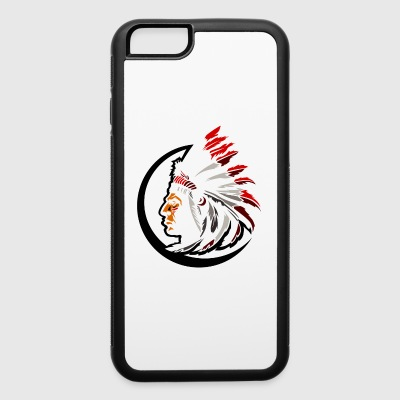 indian_inside_sircle_white - iPhone 6/6s Rubber Case