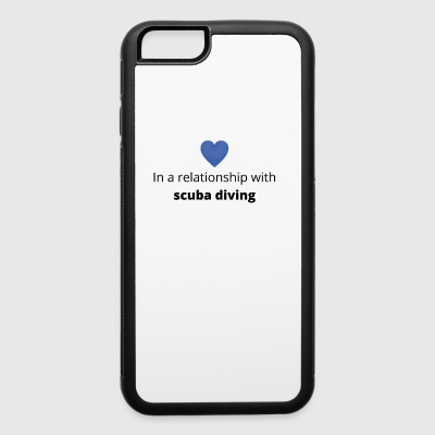 gift single taken relationship with scuba diving - iPhone 6/6s Rubber Case