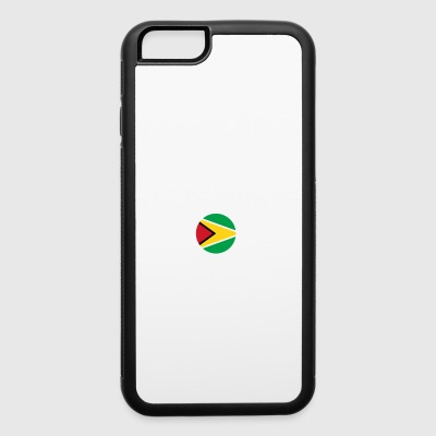 DON T NEED THERAPIE WANT GO GUYANA - iPhone 6/6s Rubber Case