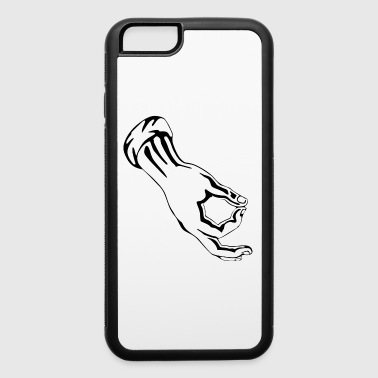 circle finger game - iPhone 6/6s Rubber Case
