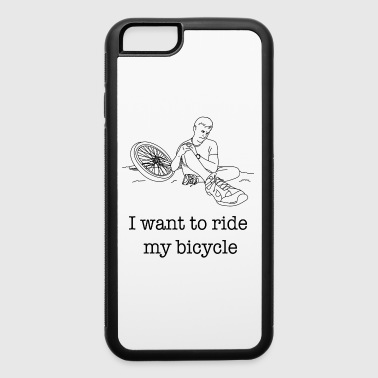 I want to ride my Bicycle / Gift Idea - iPhone 6/6s Rubber Case