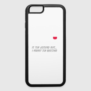 WINE IS THE ANSWER - iPhone 6/6s Rubber Case