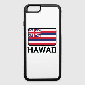 National Flag Of Hawaii - iPhone 6/6s Rubber Case