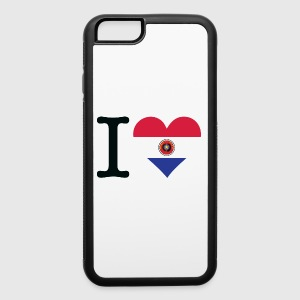 I Love Paraguay - iPhone 6/6s Rubber Case