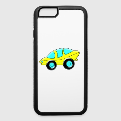 cartoon Sporty Car - iPhone 6/6s Rubber Case