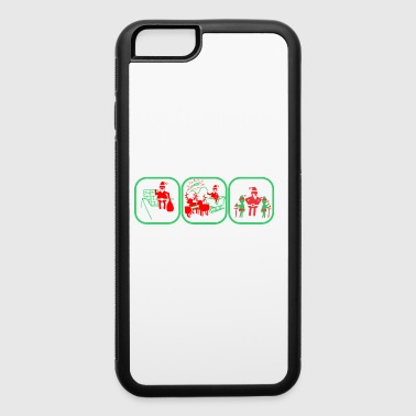 Why Santa Should Be Arrested Christmas - iPhone 6/6s Rubber Case