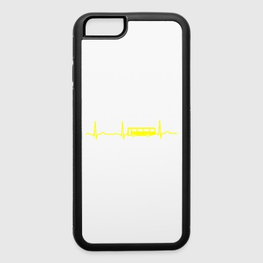 GIFT - ECG BUS YELLOW - iPhone 6/6s Rubber Case