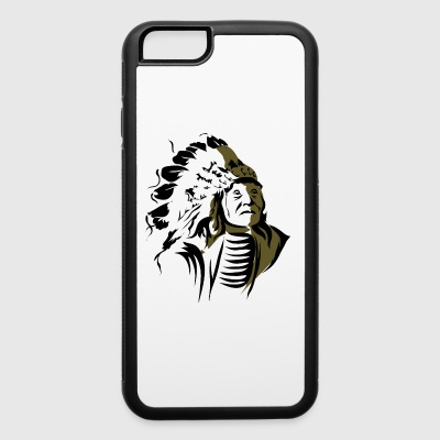 old_indian_chief - iPhone 6/6s Rubber Case