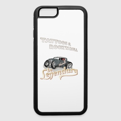 Tattoos & Rock'n Roll be legendary 50s style gift - iPhone 6/6s Rubber Case