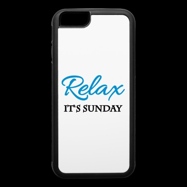Relax - Its sunday - iPhone 6/6s Rubber Case