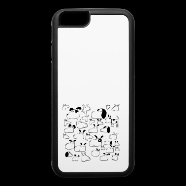 dog - iPhone 6/6s Rubber Case