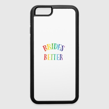 TWO BRIDES DIAMOND RAINBOW - iPhone 6/6s Rubber Case