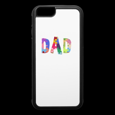 Autism Awareness Shirt Autism Support Dad - iPhone 6/6s Rubber Case