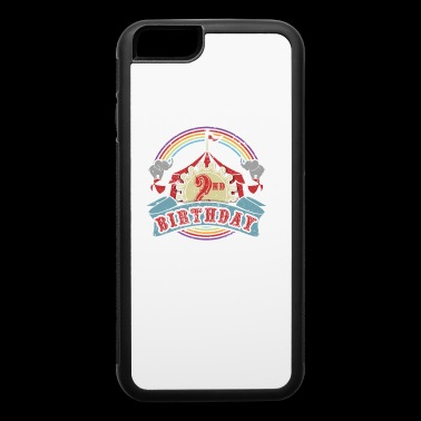 Circus Carnival Birthday 2nd Birthday Party Kids Shirt - iPhone 6/6s Rubber Case