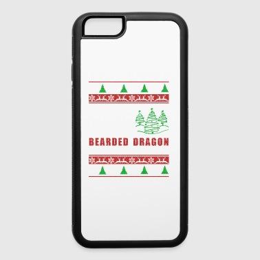 Bearded Dragon Christmas Shirt - iPhone 6/6s Rubber Case