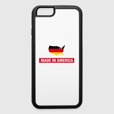 Made In America With German Parts Germany Flag - iPhone 6/6s Rubber Case