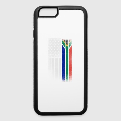 South African American Flag - iPhone 6/6s Rubber Case