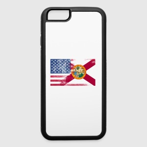 Florida American Flag Fusion - iPhone 6/6s Rubber Case
