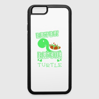Sea Turtle Shirt - iPhone 6/6s Rubber Case