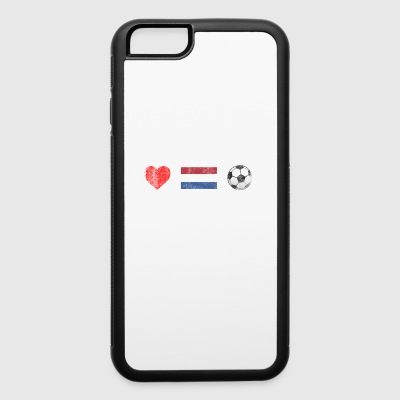 Netherlands Football Netherlander or Dutch Soccer - iPhone 6/6s Rubber Case