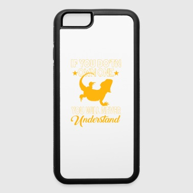 Bearded Dragon Tee Shirt - iPhone 6/6s Rubber Case