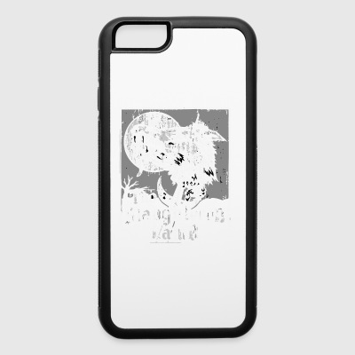 The Slaughtered Lamb vectorized - iPhone 6/6s Rubber Case