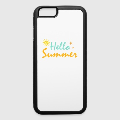 HELLO SUMMER - iPhone 6/6s Rubber Case