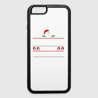 Be Nice To The Advocate Santa Is Watching - iPhone 6/6s Rubber Case