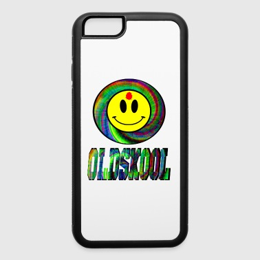 old skool raver smiley - iPhone 6/6s Rubber Case