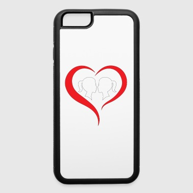 Lesbian Valentine Shirt - Best Gift Idea - iPhone 6/6s Rubber Case