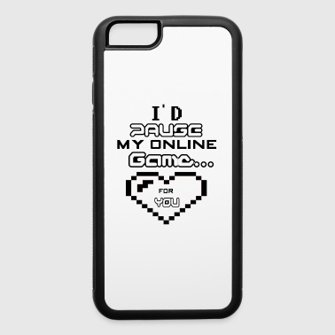 Gamer Valentines day gift - iPhone 6/6s Rubber Case