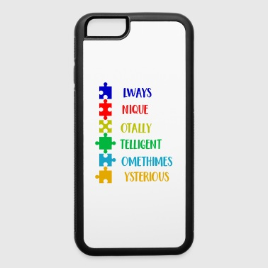 Autism Awareness Defination Meaning Word Funny Shirts Gifts - iPhone 6/6s Rubber Case