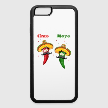 Cinco de Mayo Mexican Party Celebration Shirt 5th - iPhone 6/6s Rubber Case