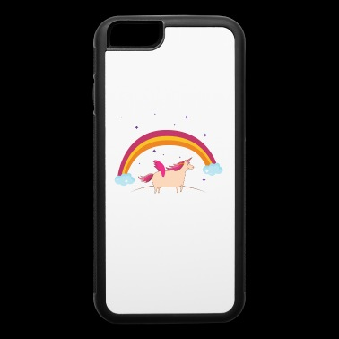 Unicorn mom Mother Of birthday Girl - iPhone 6/6s Rubber Case