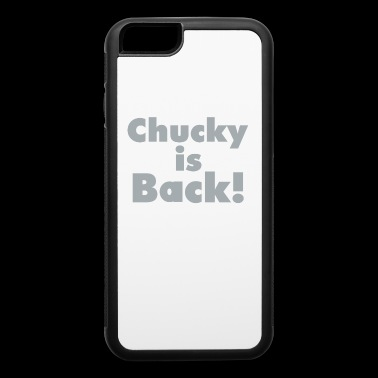 Chucky Is Back Shirt - Gift For Oakland Sports Fan - iPhone 6/6s Rubber Case