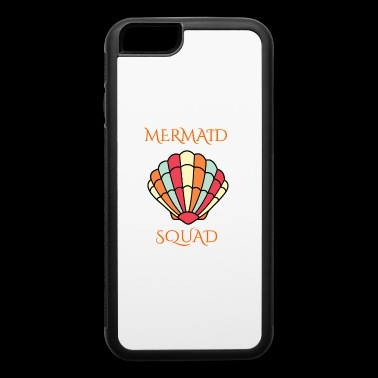 mermaid shell squad - iPhone 6/6s Rubber Case