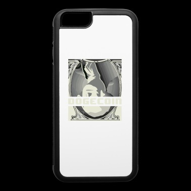 Upside Down Dollar Dogecoin- HODL Cryptocurrency - iPhone 6/6s Rubber Case