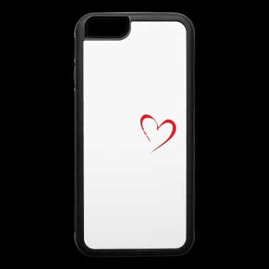 I LOVE MY MOM - iPhone 6/6s Rubber Case