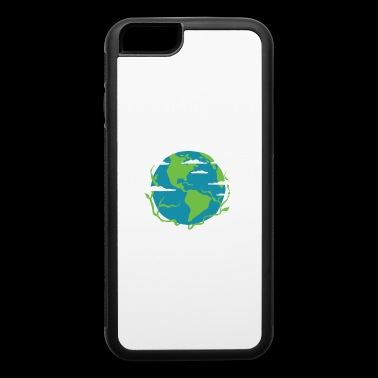 EARTH DAY SHIRT Climate Change Go Green T-shirt - iPhone 6/6s Rubber Case