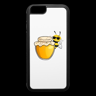 BEE T-shirt - Perfect for any lover of honey bees! - iPhone 6/6s Rubber Case