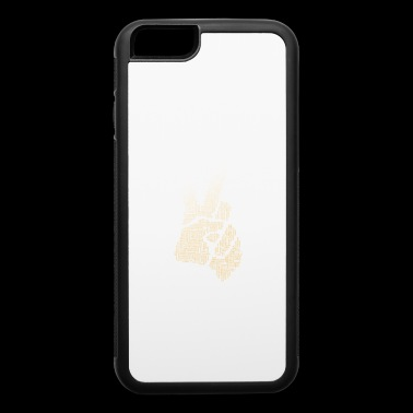 V Victory anti Demo Finger sign Symbol Win best - iPhone 6/6s Rubber Case
