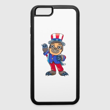 Sloth July Of 4th - iPhone 6/6s Rubber Case