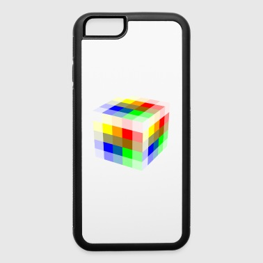 Multi Colored Cube - iPhone 6/6s Rubber Case
