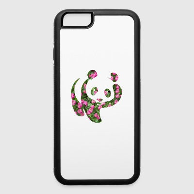 Floral Panda - iPhone 6/6s Rubber Case