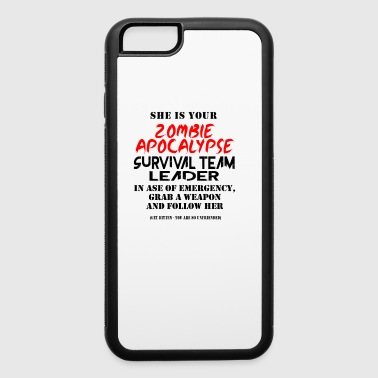 Zombie apocalypse - iPhone 6/6s Rubber Case